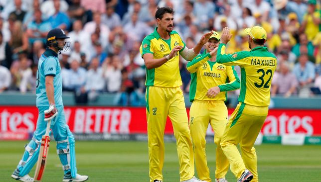Starc rolled England over at Lord's.