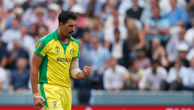 Starc broke his compatriot Glenn McGrath's record.