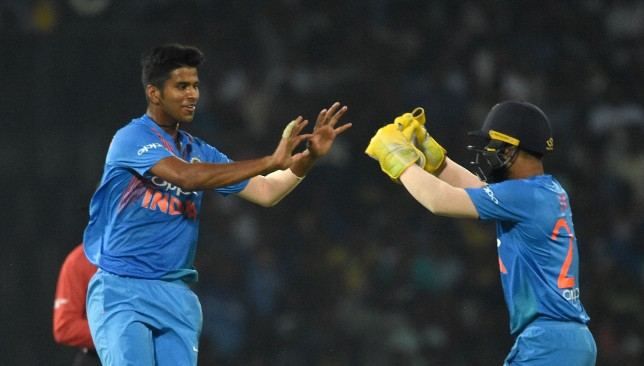 Sundar (l) can be a handy all-round option in the T20 format.