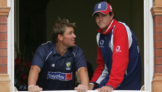 Shane Warne at Lord's.