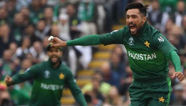 Amir was back to his old best.