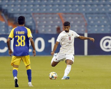 Hamdan Al Kamali has warned the tie is not over (pic courtesy of Al Wahda FC).