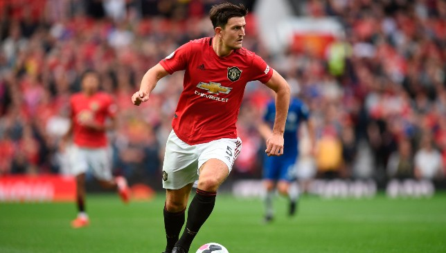 Harry Maguire was imperious on his United debut.