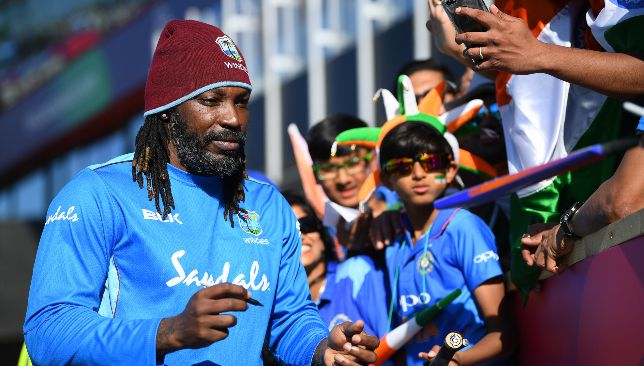 Chris Gayle can add another record to his name.