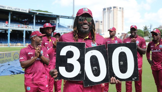 Gayle could be playing his final ODI on Wednesday.