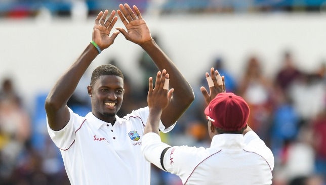 West Indies skipper Jason Holder.