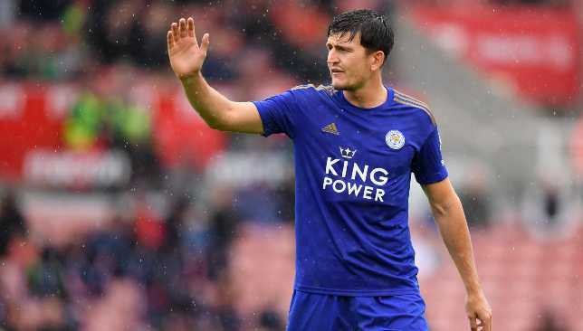 United agreed a fee with Leicester for Maguire on Friday evening.
