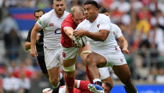 Manu Tuilagi is just one of a host of attacking options England have.