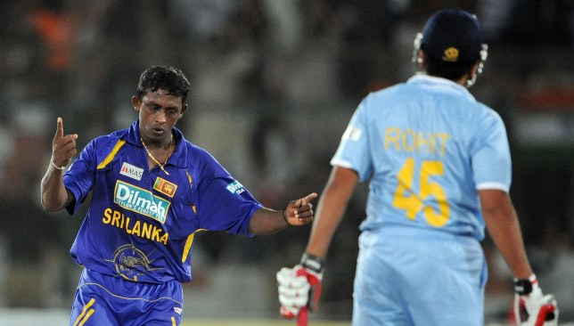 Mendis claimed 6-13 in Sri Lanka's 2008 Asia Cup final win over India.