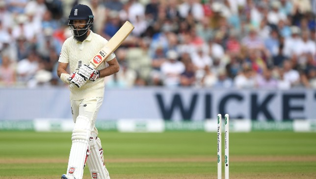 Moeen had a disappointing Test.