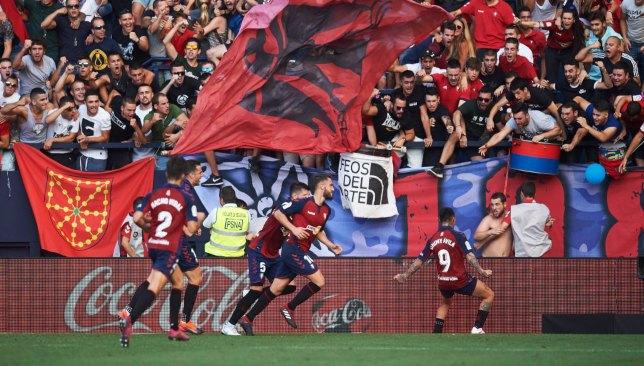 31/08/2019 SANTANDER osasuna vs barsa FOTO: JUAN MANUEL SERRANO ARCE