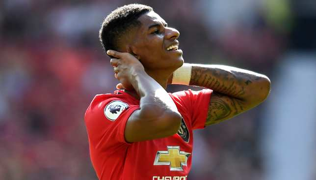 Rashford saw his penalty crash off the post, which proved costly.