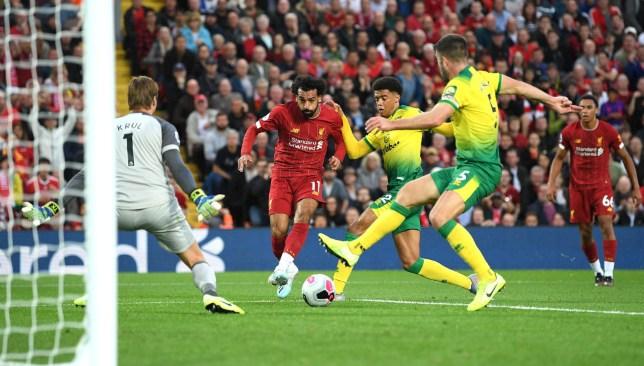 Salah goal