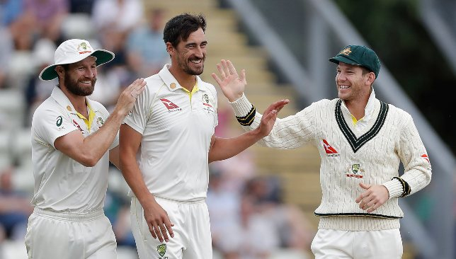 Starc picked up two wickets in the recent warm-up clash.