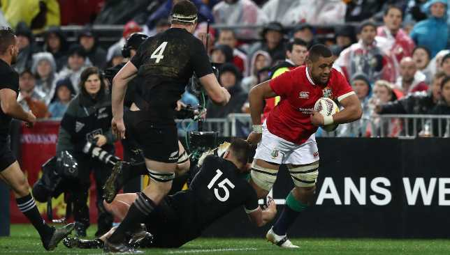 Faletau shone for the British & Irish Lions in the series draw with the All Blacks in 2017.