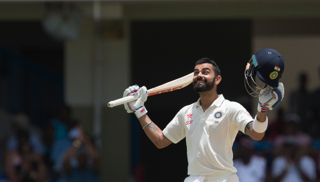 200 for Kohli in his last appearance at Antigua.