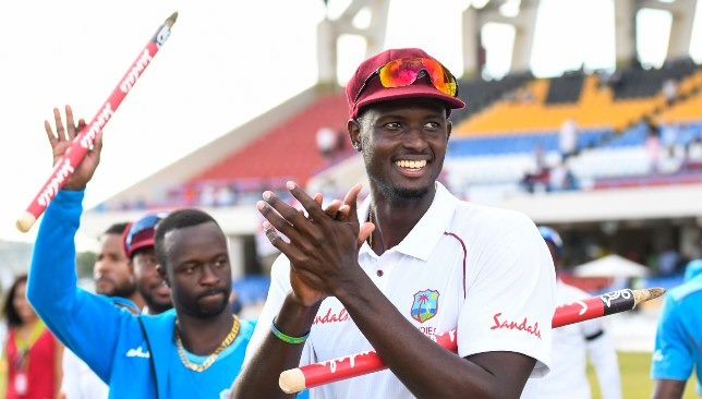 Holder was brilliant in West Indies' 2-1 win over England.