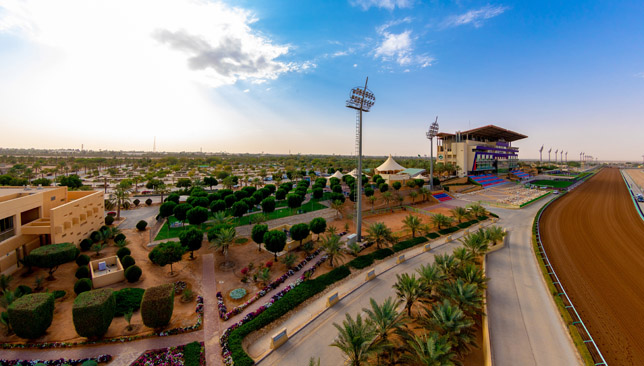 The King Abdullah Racetrack in Riyadh.