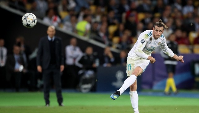 Bale seems to be back in favour at Real.