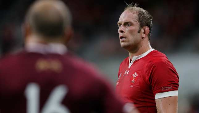 Alun Wyn Jones will surpass Gethin Jenkins as Wales' most capped player.