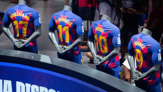 Barcelona front four