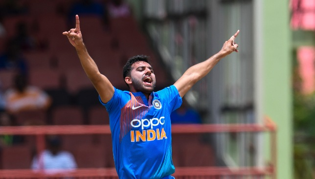 Deepak Chahar is making his case for India.