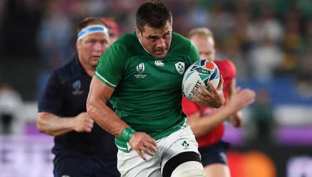 CJ Stander was immense for Ireland.