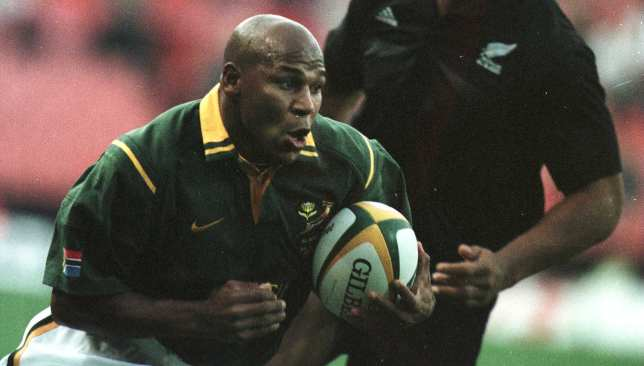 South Africa's 1995 World Cup hero Chester Williams was coach of the Blitzbokke when they won in Dubai in 2003.
