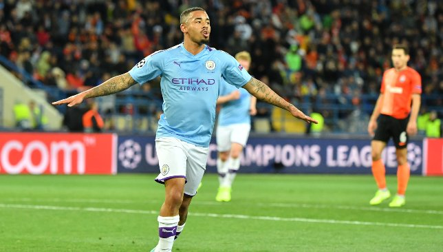 Jesus was on target in City's big win.