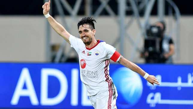 Igor Coronado sparked Sharjah's fightback last week.