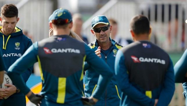 Australia head coach Justin Langer.