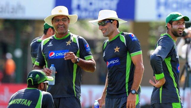Waqar Younis and Misbah-ul-Haq.