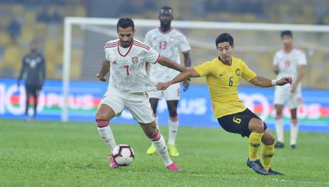 Mabkhout scored his 50th and 51st UAE goals in a 2-1 win.