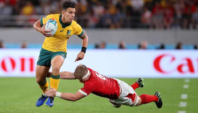 Matt Toomua changed the game Australia's way after being introduced at the break.