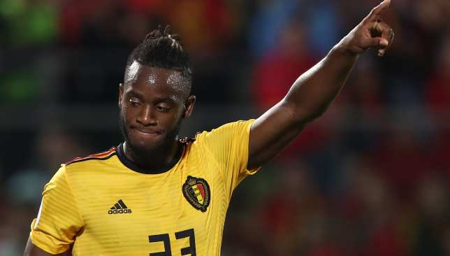 Michy Batshuayi scored a brace for Belgium.