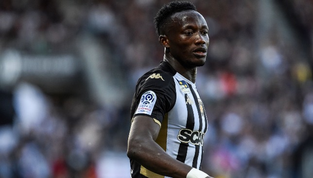 Three goals inside 11 minutes from the Angers man.
