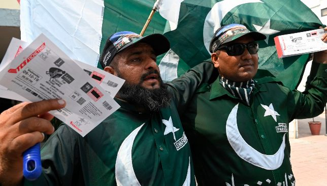 The Pakistan fans are ready to pack the stadium on Friday.
