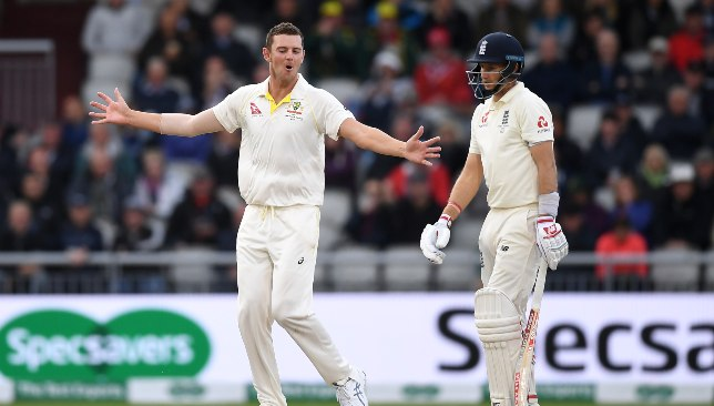Hazlewood has been a nightmare to handle for Root.