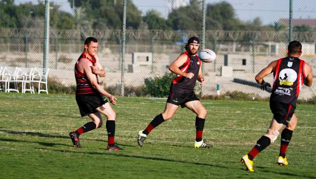 Sarries in pre-season training.