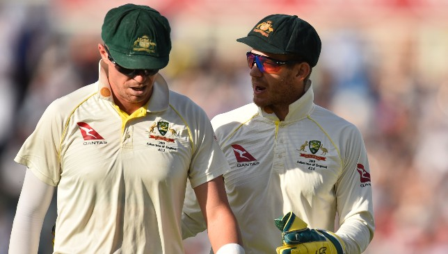 Peter Siddle and Tim Paine.