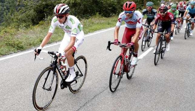 Uae Team Emirates News Tadej Pogacar Cuts Into Alejandro Valverde To Close Gap On Second Place At Vuelta A Espana Sport360 News
