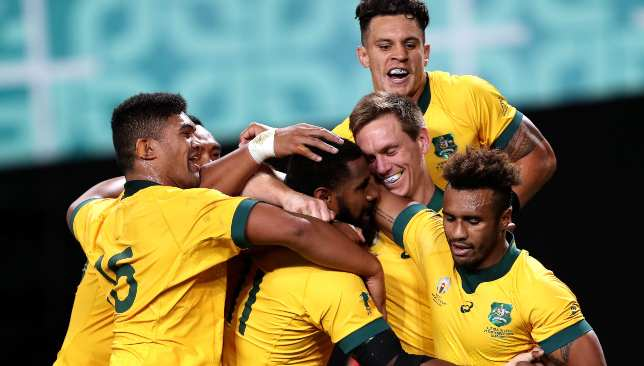 Australia scored 27 unanswered points after a horrible first 60 minutes against Fiji.