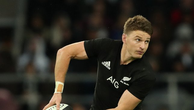 Beauden Barrett was excellent for the All Blacks.
