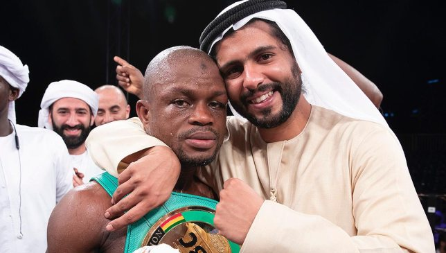 Ahmed Al Seddiqi wants to see boxing grow from the grassroots up in the UAE