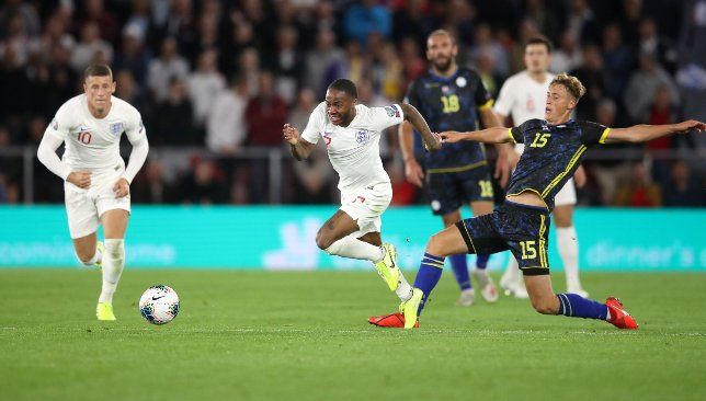 England beats Kosovo 5-3 in wild Euro 2020 qualifier