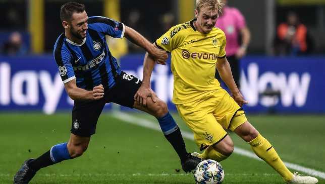 De Vrij set up the opening goal and kept Julian Brandt quiet.
