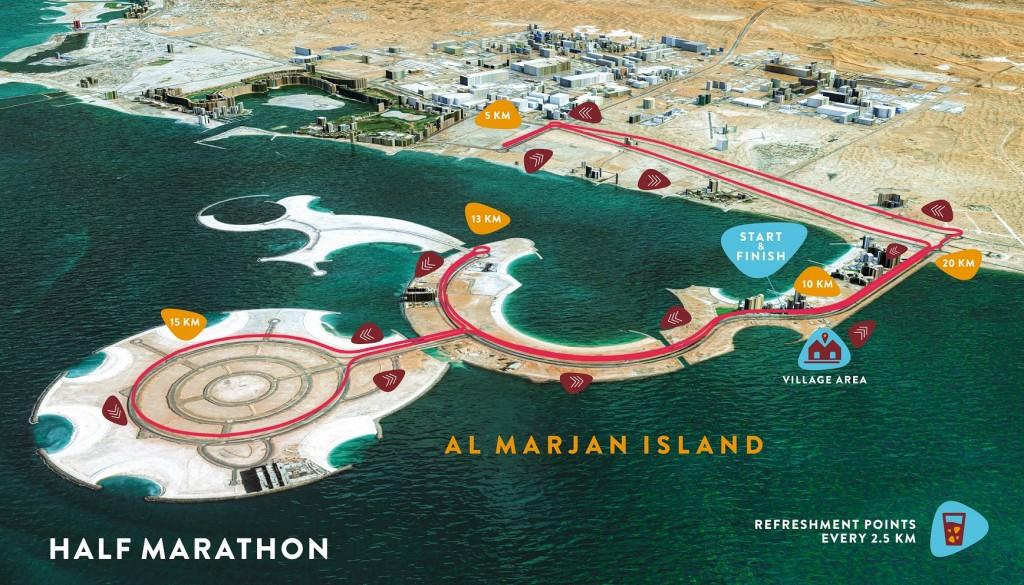 Fun in the run: The RAK half marathon is set to be a beautiful backdrop