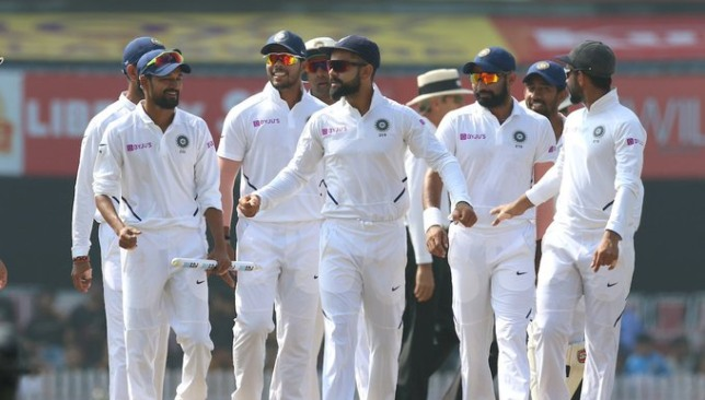 Kohli's men are on a roll in Tests. Image credit - BCCI/Twitter.