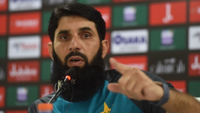 Pakistan head coach and chief selector Misbah-ul-Haq.