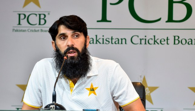 Misbah was not a happy man after Pakistan's lopsided series loss.
